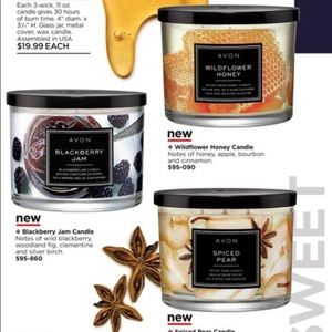 Other - 3 wick candles